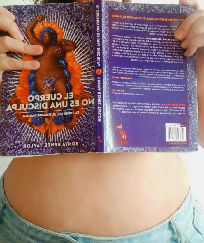Imagen de la portada del libro 'El cuerpo no es una disculpa'.