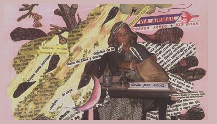 Diario Collage de Carmen Martín Gaite